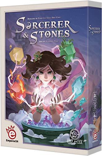 ボードゲーム 英語 アメリカ 海外ゲーム Deep Water Games Sorcerer & Stonesボードゲーム 英語 アメリカ 海外ゲーム