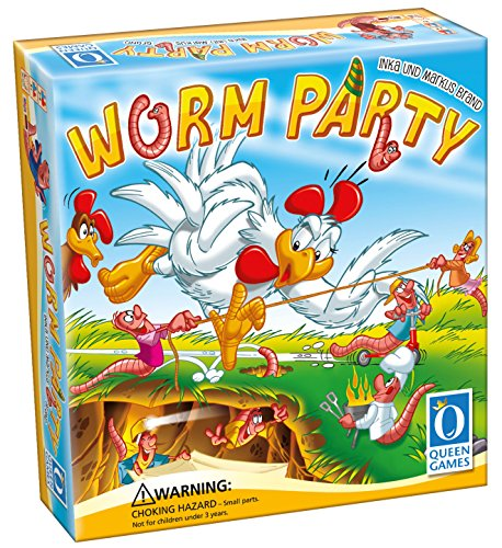 高級感 ボードゲーム 英語 アメリカ Gameボードゲーム Board アメリカ 海外ゲーム【送料無料】Queen Games Worm Party Board Gameボードゲーム 英語 アメリカ 海外ゲーム, 銀座ランプショップ:0db5274a --- bungsu.net