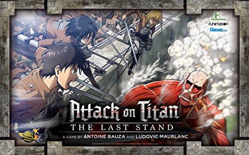 ボードゲーム 英語 アメリカ 海外ゲーム 【送料無料】Attack on Titan: The Last Standボードゲーム 英語 アメリカ 海外ゲーム