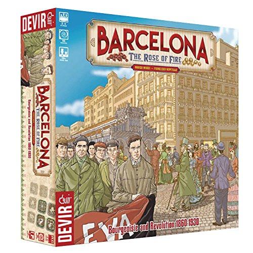 ボードゲーム 英語 アメリカ 海外ゲーム 【送料無料】Barcelona: The Rose of Fire Strategy Board Gameボードゲーム 英語 アメリカ 海外ゲーム