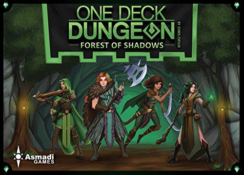 ボードゲーム 英語 アメリカ 海外ゲーム Asmadi Games One Deck Dungeon: Forest of Shadows Board Gamesボードゲーム 英語 アメリカ 海外ゲーム