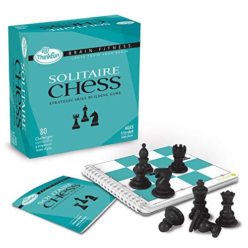 ボードゲーム 英語 アメリカ 海外ゲーム ThinkFun Brain Fitness Solitaire Chess Logic Game and STEM Toy for Age 12 and Upボードゲーム 英語 アメリカ 海外ゲーム