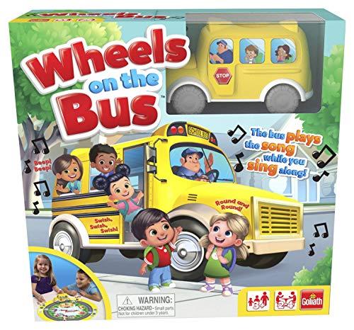 ボードゲーム 英語 アメリカ 海外ゲーム 【送料無料】Pressman 8537 Wheels On The Bus Board Game Plays Song While You Sing Along, 5