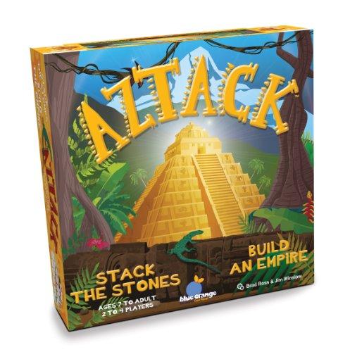ボードゲーム 英語 アメリカ 海外ゲーム 【送料無料】Blue Orange Aztack Gameボードゲーム 英語 アメリカ 海外ゲーム