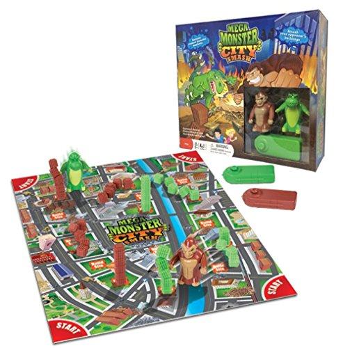ボードゲーム 英語 アメリカ 海外ゲーム 【送料無料】Mega Monster City Smash Gameボードゲーム 英語 アメリカ 海外ゲーム