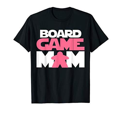 ボードゲーム 英語 アメリカ 海外ゲーム Board Game Mom T-Shirt. Meeple Tabletop Role Play RPGボードゲーム 英語 アメリカ 海外ゲーム