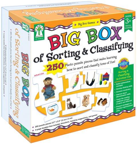 ボードゲーム 英語 アメリカ 海外ゲーム 【送料無料】Key Education Publishing Big Box of Sorting and Classifying Board Game (840010) Carson-Dellosaボードゲーム 英語 アメリカ 海外ゲーム