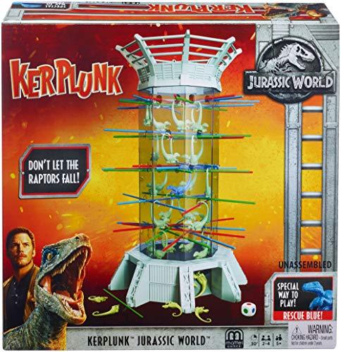 ボードゲーム 英語 アメリカ 海外ゲーム 【送料無料】Kerplunk! Raptors Jurassic World [Amazon Exclusive]ボードゲーム 英語 アメリカ 海外ゲーム