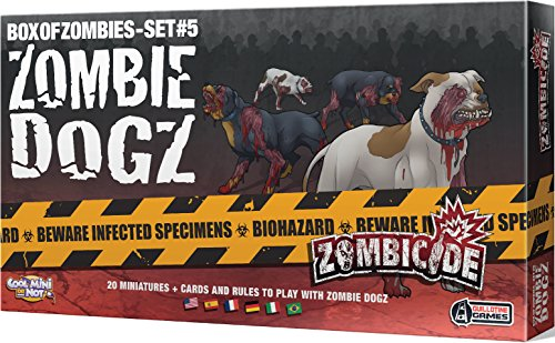 ボードゲーム 英語 アメリカ 海外ゲーム 【送料無料】CMON Zombicide: Zombie Dogs Board Game (5 Set)ボードゲーム 英語 アメリカ 海外ゲーム