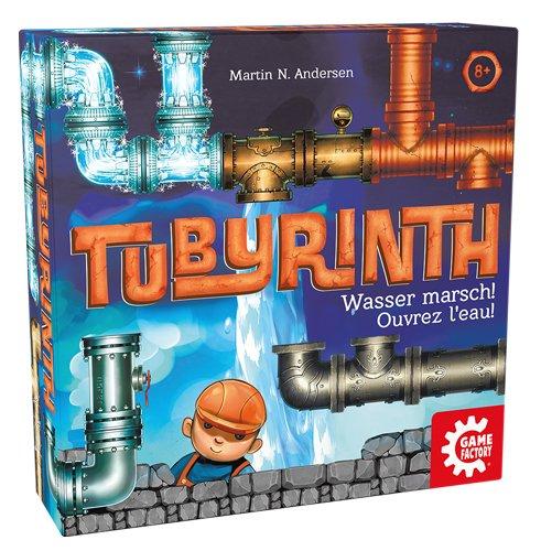 ボードゲーム 英語 アメリカ 海外ゲーム 【送料無料】Lion Rampant Imports Tubyrinth Family Board Game,,ボードゲーム 英語 アメリカ 海外ゲーム