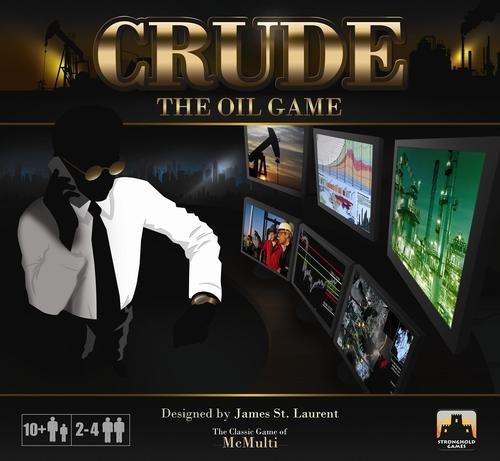 ボードゲーム 英語 アメリカ 海外ゲーム 【送料無料】Stronghold Games Crude The Oil Gameボードゲーム 英語 アメリカ 海外ゲーム