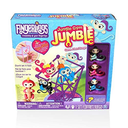 ボードゲーム 英語 アメリカ 海外ゲーム Cardinal Industries Fingerlings Jungle Gym Fingerlings Board Gameボードゲーム 英語 アメリカ 海外ゲーム