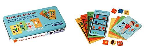 ボードゲーム 英語 アメリカ 海外ゲーム The Purple Cow Ready, Set, Going Out! Card Matching Memory Board Game - Educational Toy for 3-7-Year-Old Kids. 24 Cards Game Set. Boys & Girls Alike Will Love to Play/ Match ボードゲーム 英語 アメリカ 海外ゲーム