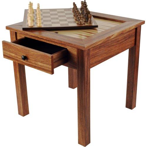 ボードゲーム 英語 アメリカ 海外ゲーム 【送料無料】Hey! Play! Wood 3-in-1 Chess Backgammon Tableボードゲーム 英語 アメリカ 海外ゲーム