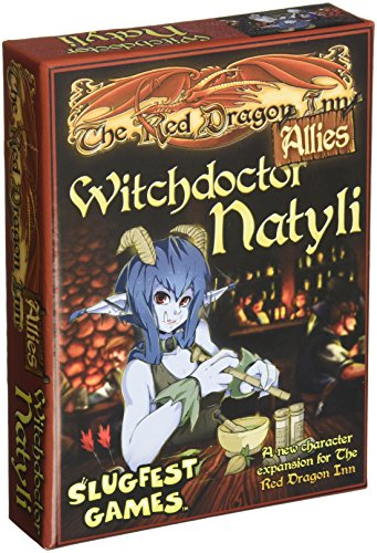 ボードゲーム 英語 アメリカ 海外ゲーム Slugfest Games Red Dragon Inn: Allies - Witchdoctor Natyli (Red Dragon Inn Expansion) Board Gameボードゲーム 英語 アメリカ 海外ゲーム