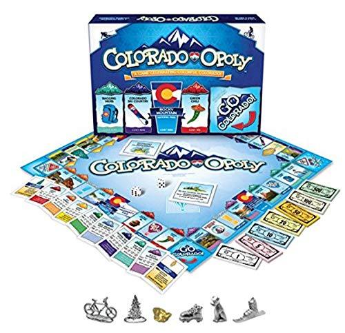 ボードゲーム 英語 アメリカ 海外ゲーム 【送料無料】Colorado Opolyボードゲーム 英語 アメリカ 海外ゲーム