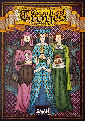 ボードゲーム 英語 アメリカ 海外ゲーム 【送料無料】Troyes: The Ladies of Troyesボードゲーム 英語 アメリカ 海外ゲーム