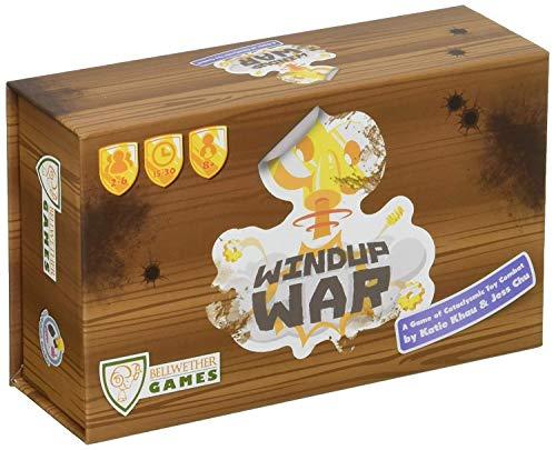 ボードゲーム 英語 アメリカ 海外ゲーム Bellwether Games Windup War Strategy Board Gameボードゲーム 英語 アメリカ 海外ゲーム