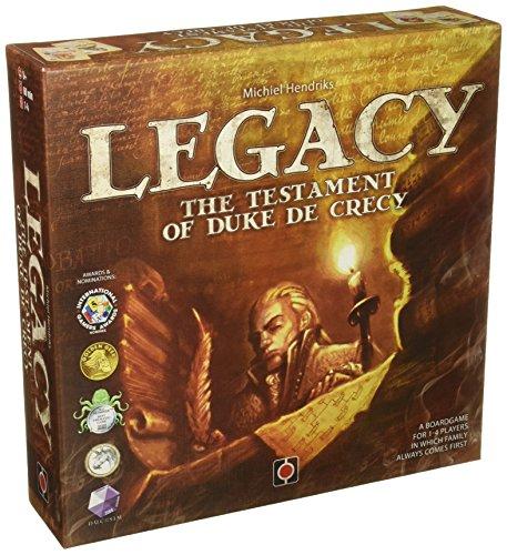 ボードゲーム 英語 アメリカ 海外ゲーム 【送料無料】Wydawnictwo Portal POP00323 Legacy The Testament of Duke De Crecy Board Gameボードゲーム 英語 アメリカ 海外ゲーム
