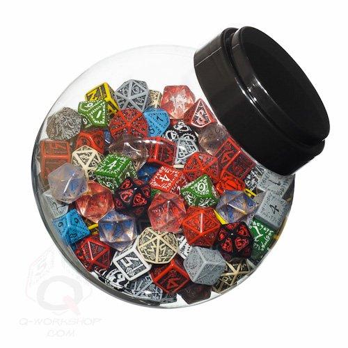 ボードゲーム 英語 アメリカ 海外ゲーム 【送料無料】Q Workshop Jar of Dice #1 (150 STK.) Board Gameボードゲーム 英語 アメリカ 海外ゲーム