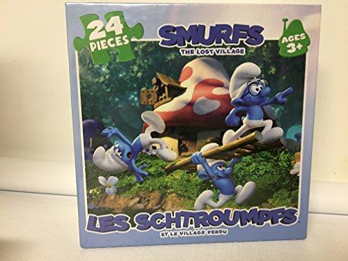 ボードゲーム 英語 アメリカ 海外ゲーム Cobble Hill Smurfs: The Lost Village Board Game Puzzleボードゲーム 英語 アメリカ 海外ゲーム