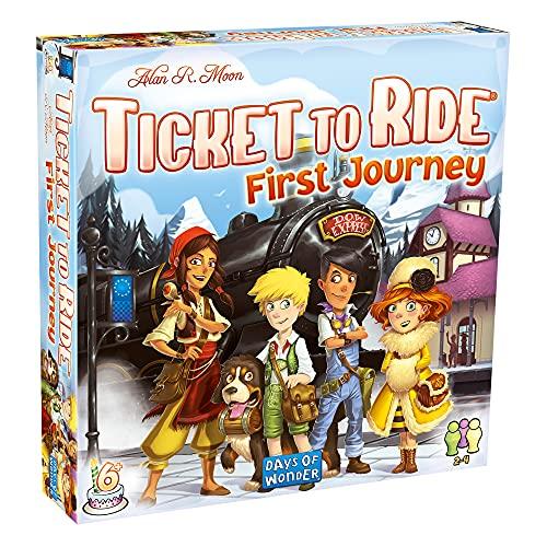 無料ラッピングでプレゼントや贈り物にも 逆輸入並行輸入送料込 ボードゲーム 英語 アメリカ お中元 海外ゲーム 送料無料 to - メーカー直売 First Ride: Ticket Journeyボードゲーム Europe