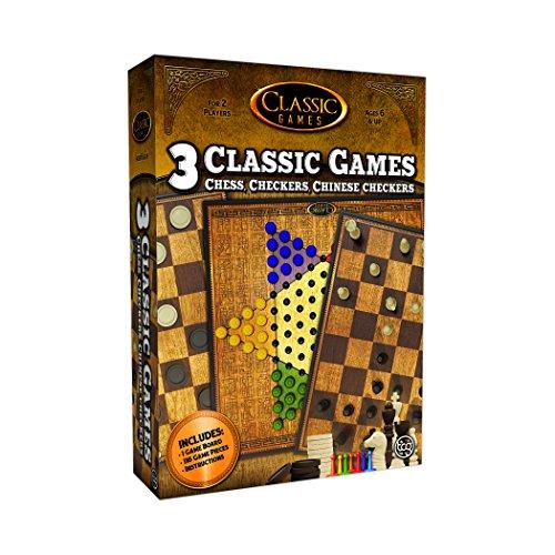 ボードゲーム 英語 アメリカ 海外ゲーム TCG Toys Chess, Checkers, Chinese Checkers 3 in 1 Game Setボードゲーム 英語 アメリカ 海外ゲーム