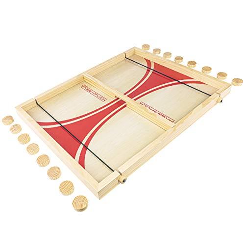 ボードゲーム 英語 アメリカ 海外ゲーム 【送料無料】GoSports Pass The Puck Game Set | Rapid-Shot Tabletop Board Game - Fun for Kids & Adultsボードゲーム 英語 アメリカ 海外ゲーム