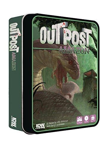 ボードゲーム 英語 アメリカ 海外ゲーム IDW Games Outpost: Amazon Survival Horror Gameボードゲーム 英語 アメリカ 海外ゲーム
