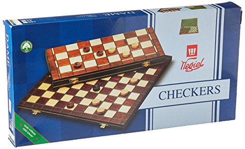 無料ラッピングでプレゼントや贈り物にも 逆輸入並行輸入送料込 ボードゲーム 英語 アメリカ 海外ゲーム 送料無料 Checkers Set in Case 2''ボードゲーム Field 100 Wooden 15-1 大好評です Playing 国内送料無料 - Folding
