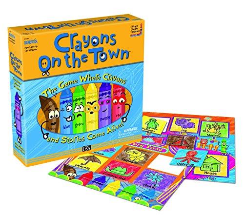 ボードゲーム 英語 アメリカ 海外ゲーム Crayons on the Townボードゲーム 英語 アメリカ 海外ゲーム