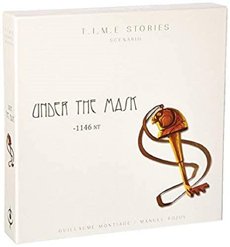 ボードゲーム 英語 アメリカ 海外ゲーム 【送料無料】TIME Stories: Under the Maskボードゲーム 英語 アメリカ 海外ゲーム