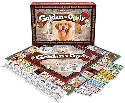 ボードゲーム 英語 アメリカ 海外ゲーム 【送料無料】Late for the Sky Golden Retriever-opolyボードゲーム 英語 アメリカ 海外ゲーム
