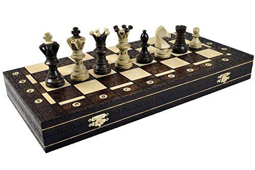 ボードゲーム 英語 アメリカ 海外ゲーム 【送料無料】Continental Chess Game, Royal Brownボードゲーム 英語 アメリカ 海外ゲーム
