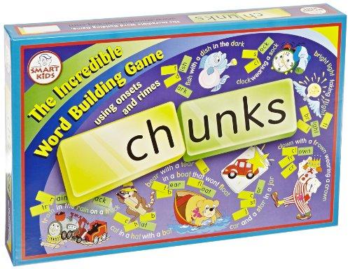 ボードゲーム 英語 アメリカ 海外ゲーム 【送料無料】Didax Chunks The Incredible Word Building Game , Blueberry - 195-15, 10 Ouncesボードゲーム 英語 アメリカ 海外ゲーム