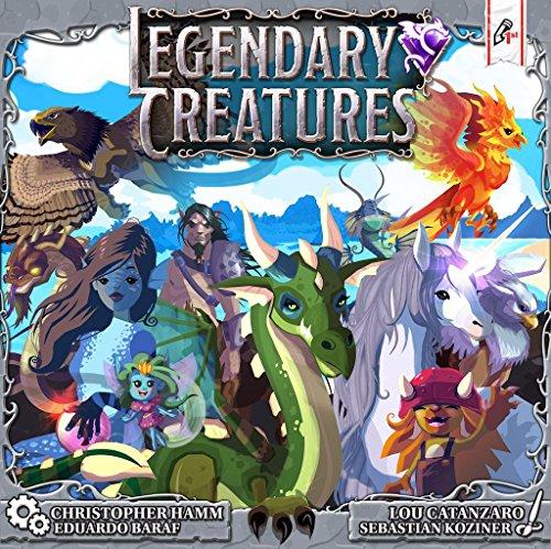 今季一番 ボードゲーム 英語 アメリカ 海外ゲーム 【送料無料】Pencil First Games Legendary Creatures, Gameボードゲーム 英語 アメリカ 海外ゲーム, 日吉津村 d95af646