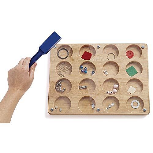 ボードゲーム 英語 アメリカ 海外ゲーム 【送料無料】Excellerations Predict Magnetic Discovery Board, 9x12 inches, Educational STEM Toy, Preschool, Kids Toysボードゲーム 英語 アメリカ 海外ゲーム