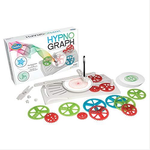 ボードゲーム 英語 アメリカ 海外ゲーム 【送料無料】ThinkFun HypnoGraph Drawing Machine and STEM Toy for Boys and Girls Age 8 and Up - Creates Mesmerizing Mechanical Artボードゲーム 英語 アメリカ 海外ゲーム