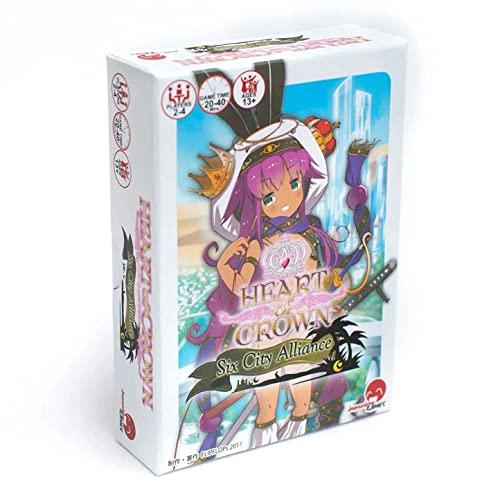 ボードゲーム 英語 アメリカ 海外ゲーム Heart of Crown: Six City Alliance Expansionボードゲーム 英語 アメリカ 海外ゲーム