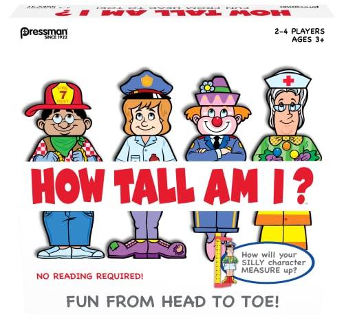 ボードゲーム 英語 アメリカ 海外ゲーム How Tall Am I Gameボードゲーム 英語 アメリカ 海外ゲーム