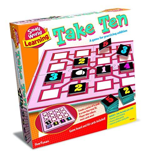 ボードゲーム 英語 アメリカ 海外ゲーム 【送料無料】Small World Toys Take Ten Adding Gameボードゲーム 英語 アメリカ 海外ゲーム