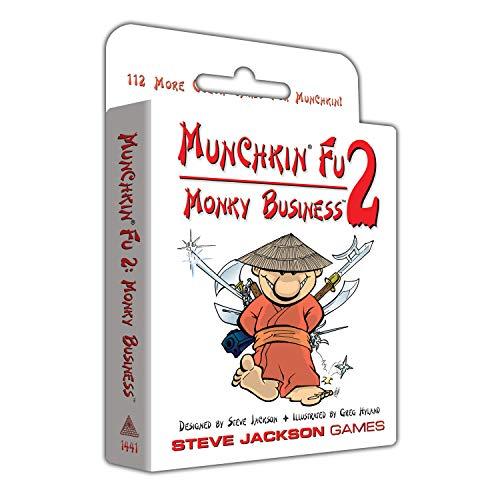 ボードゲーム 英語 アメリカ 海外ゲーム Munchkin Fu 2 Monky Businessボードゲーム 英語 アメリカ 海外ゲーム
