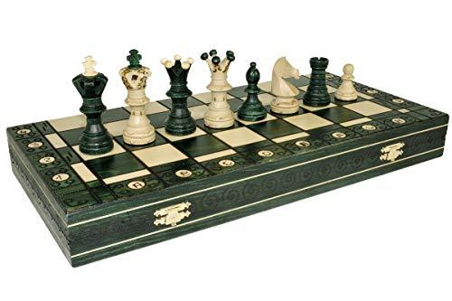 ボードゲーム 英語 アメリカ 海外ゲーム 【送料無料】Green Ambassador Chess Wooden - Board 21x21 by Wegielボードゲーム 英語 アメリカ 海外ゲーム