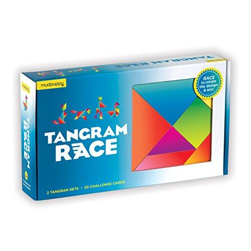 ボードゲーム 英語 アメリカ 海外ゲーム 【送料無料】Mudpuppy Tangram Race Gameボードゲーム 英語 アメリカ 海外ゲーム
