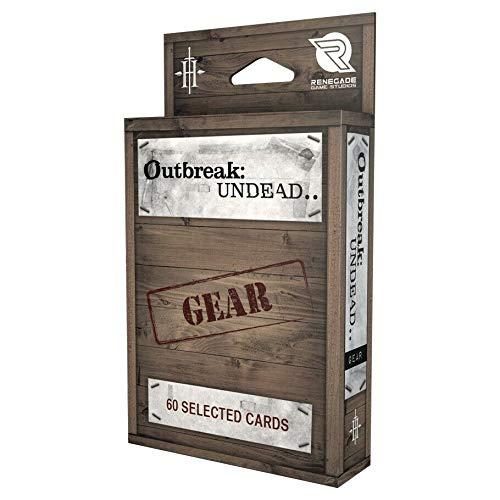 ボードゲーム 英語 アメリカ 海外ゲーム Outbreak Undead: 2nd Edition: Gear Deckボードゲーム 英語 アメリカ 海外ゲーム