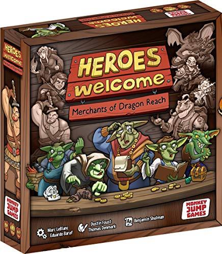 ボードゲーム 英語 アメリカ 海外ゲーム 【送料無料】Heroes Welcome: Merchants of Dragon Reachボードゲーム 英語 アメリカ 海外ゲーム