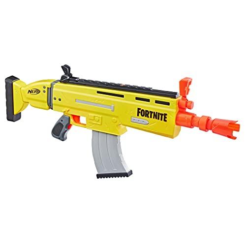ナーフ FORTNITE アメリカ 直輸入 ダーツ 【送料無料】NERF E6158EU4 AR-L Motorized Toy Blaster, 20 Official Fortnite Elite Darts, Flip Up Sights-for Youth, Teens, Adults, Multicolourナーフ FORTNITE アメリカ 直輸入 ダーツ