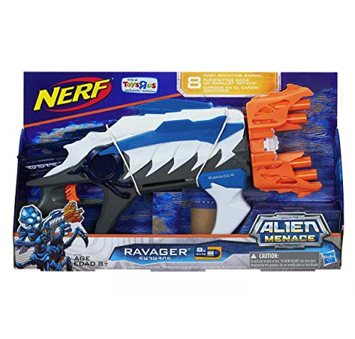 ナーフ モジュラス エヌストライクエリート シューティング アメリカ 【送料無料】NERF Ravager Alien Menace Blue (Blue)ナーフ モジュラス エヌストライクエリート シューティング アメリカ