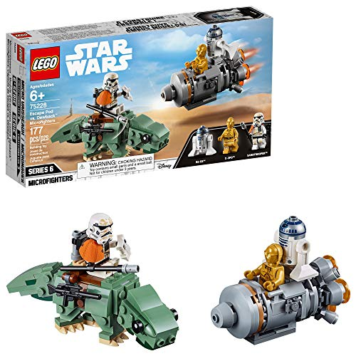 レゴ スターウォーズ 【送料無料】LEGO Star Wars: A New Hope Escape Pod vs Dewback Microfighters 75228 Building Kit (177 Pieces)レゴ スターウォーズ