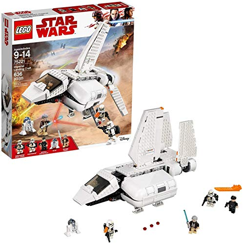 レゴ スターウォーズ 【送料無料】LEGO Star Wars Imperial Landing Craft 75221 Building Kit, Obi-Wan Kenobi, Imperial Shuttle Pilot, Sandtrooper (636 Pieces)レゴ スターウォーズ